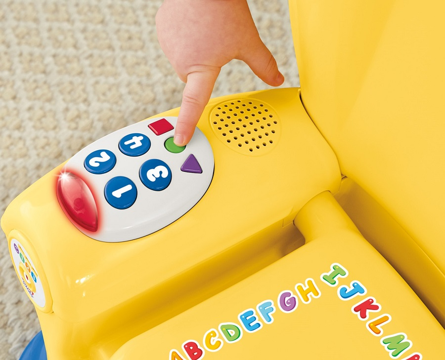 """Развивающий стульчик Фишер-Прайс """"Смейся и учись"""" игровой центр Fisher-Price Laugh & Learn Smart Stages Chair"""