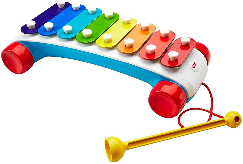 Игрушка - каталка Fisher-price Ксилофон классический