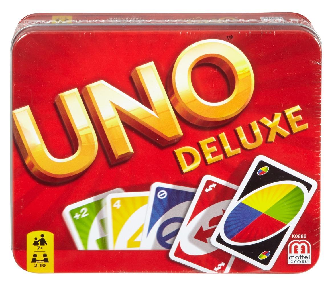 Карточная игра UNO Делюкс