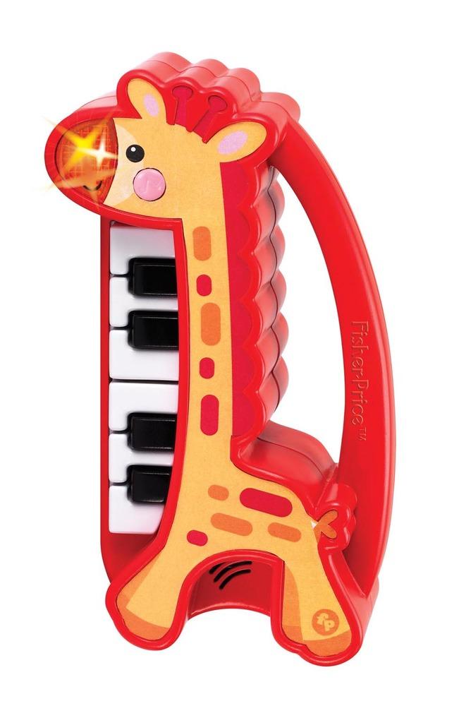 """Детское мини-пианино Fisher-Price """"Музыкальный жирафик"""""""