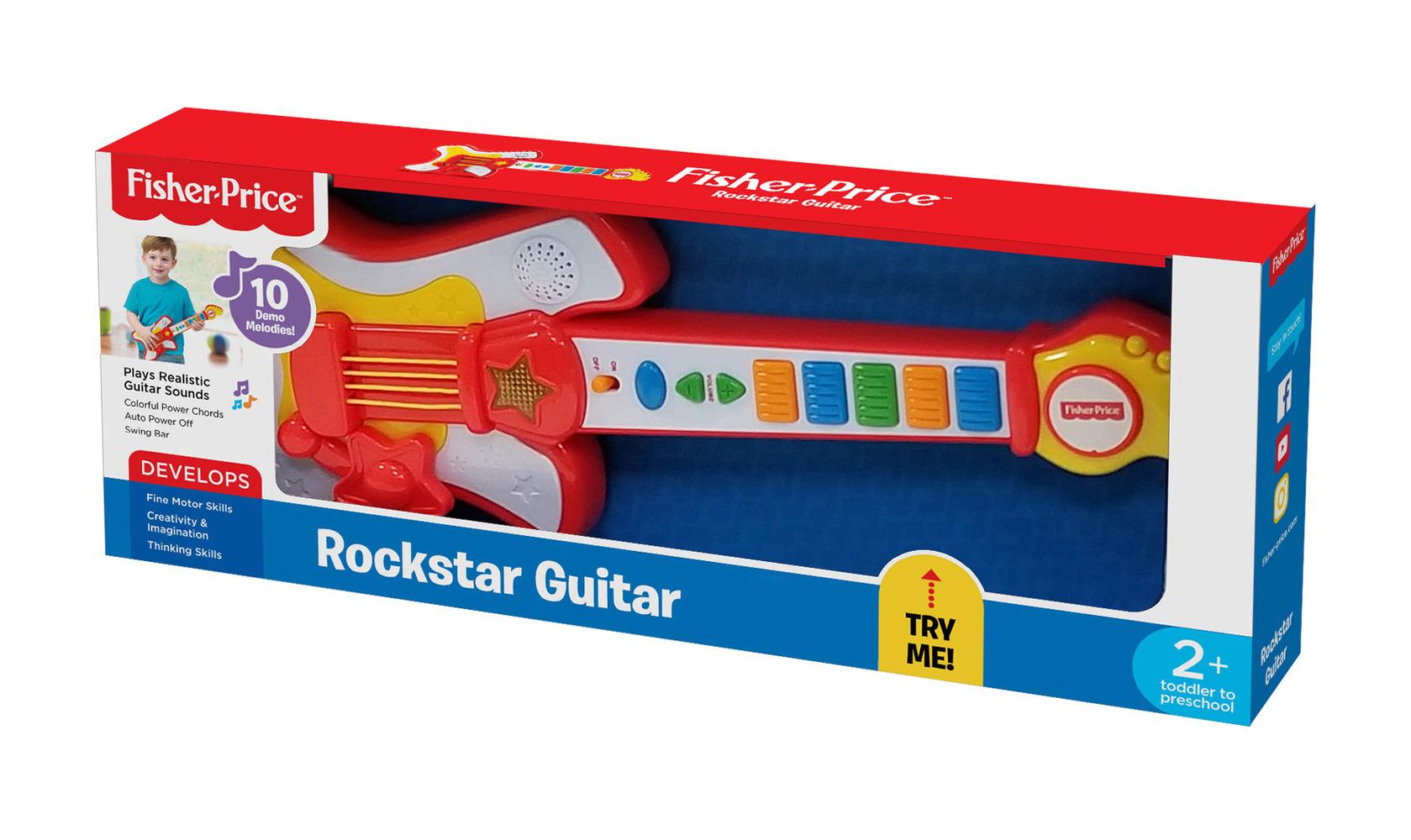 """Детская гитара Fisher-Price """"Рок-звезда"""""""