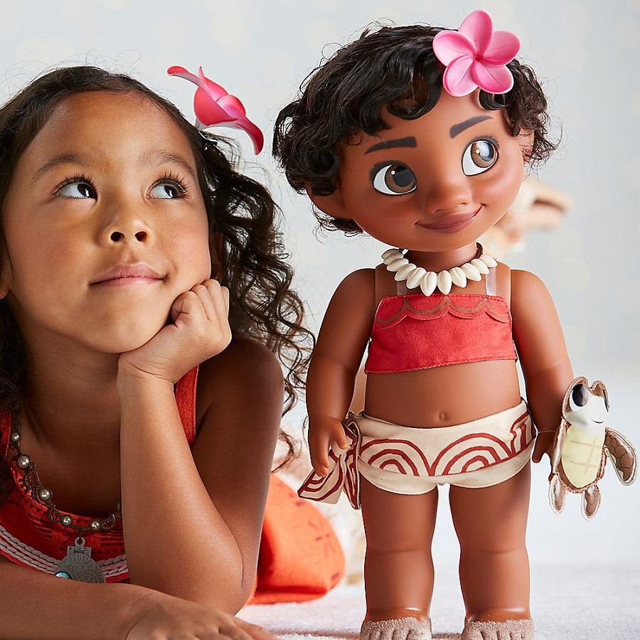 Большая кукла Аниматор Моана Дисней Moana Disney Animators