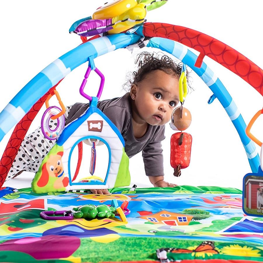 Развивающий игровой коврик «Гусеничка и ее друзья» Baby Einstein Caterpillar & Friends Play Gym