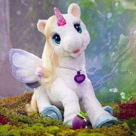 Интерактивная игрушка FurReal Friends Starlily мой волшебный интерактивный единорог Старлили, Hasbro США