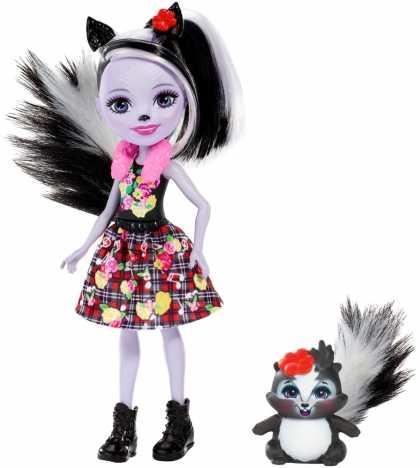 "Кукла Enchantimals ""Скунсик Сейдж"" обновл."
