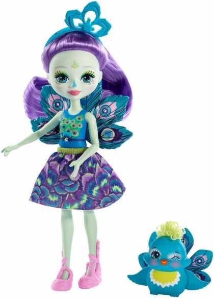 "Кукла Enchantimals ""Пава Петтер"" обновл."