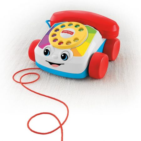 Игрушка-каталка Весёлый телефон Fisher-Price