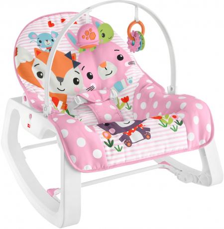 Массажное кресло-качалка Fisher-Price Незабываемое качание от 0 до 18 кг