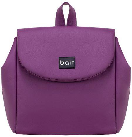 Коляска 2 в 1 Bair Infinity кожа 100% BI-07 purple (фиолетовый)