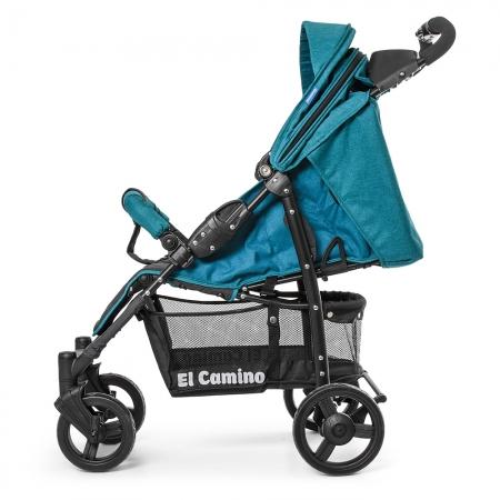 Детская прогулочная коляска El Camino Amulet, ME 1015L Emerald