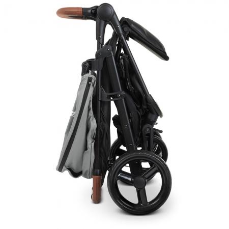 Всесезонная прогулочная коляска El Camino X4 ME 1024 Gray серый