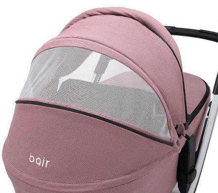 Коляска 2 в 1 Bair Electra B-touch system BE-04 dark pink (розовый)