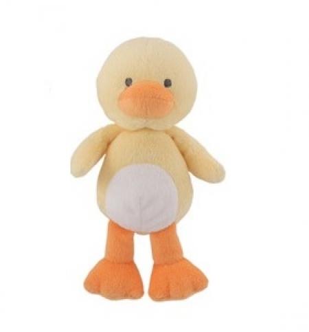 Первая мягкая игрушка погремушка Утенок от Carters Child of Mine Duck Bean bag