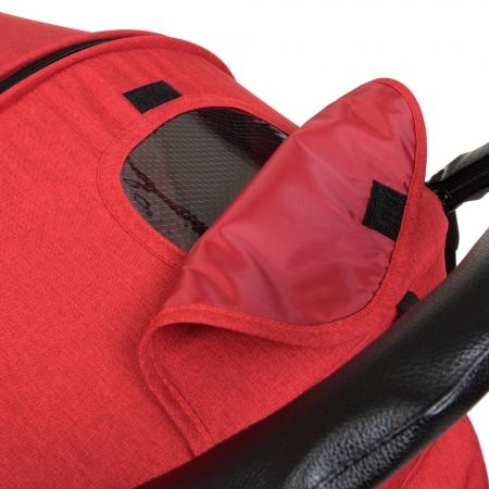 Прогулочная коляска-книжка El Camino Favorit M 3409L Crimson красный