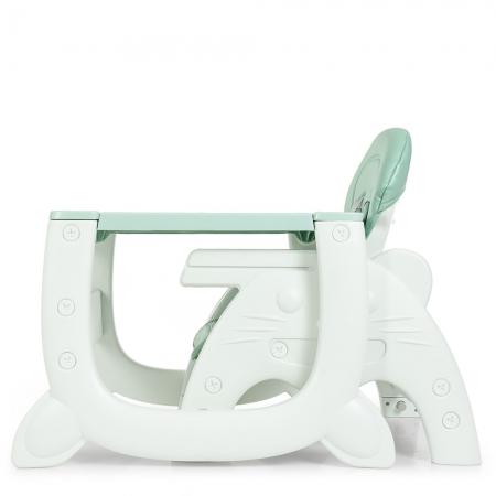 Стульчик для кормления - трансформер 2в1 Bambi M 3612-5 зеленый