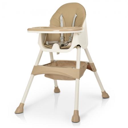 Детский стульчик для кормления Bambi M 4136 BEIGE бежевый