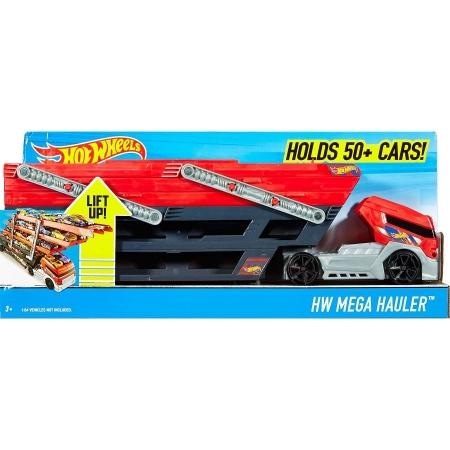Большой погрузчик автовоз Mega Hauler Hot Wheels Хот вилс США