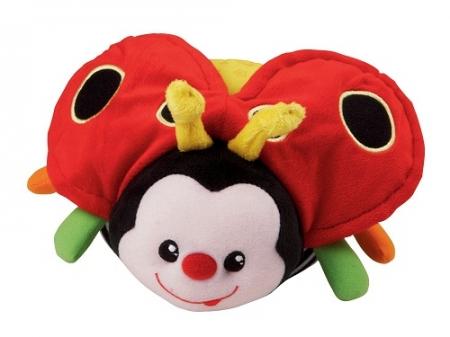 Развивающая мягкая игрушка мяч «Божья коровка» VTech Count & Hug Bug