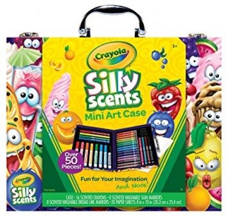Подарочный набор Crayola с ароматизированными маркерами и раскрасками