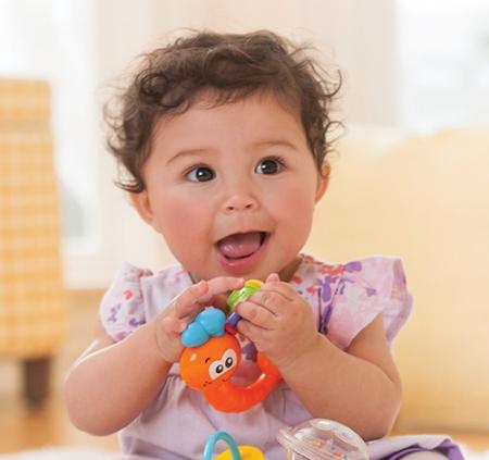 Погремушка для малышей Улитка Infantino