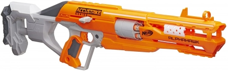 Бластер Hasbro Nerf Аккустрайк Альфахок нерф, N-Strike Elite AccuStrik