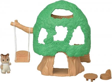 Игровой набор Домик на дереве Calico Critters Baby Tree House