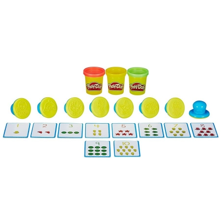 Игровой набор пластилина Hasbro Play-Doh Числа и счет