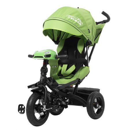 Велосипед триколісний TILLY CAYMAN T-381 Зелений з посиленою рамою і пультом/1/