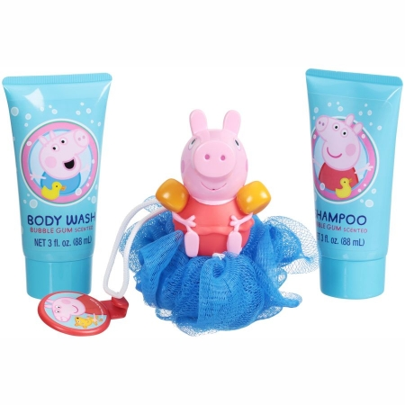 Детский подарочный набор для душа «Свинка Пеппа» (4 ед.) США Peppa Pig