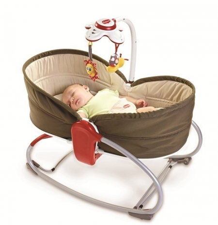 Кроватка-качалка Tiny Love 3 в 1 «Мамина любовь» (3-in-1 Rocker Napper)