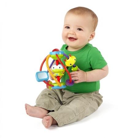 """Развивающая игрушка погремушка  """"Логический шар"""" Bright Starts"""