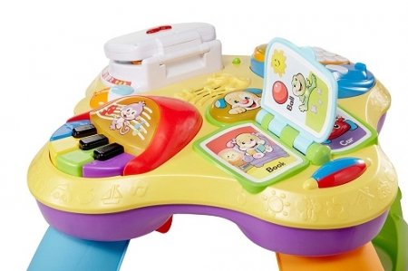 Умный столик Fisher-Price (Фишер-Прайс) Щенок и его друзья Laugh & Learn Puppy and Friends Learning Table