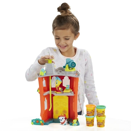 Hasbro Play-Doh Игровой набор Пожарная станция