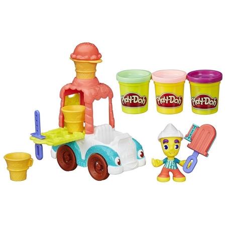 Плей-Дох игровой набор пластилина Грузовик мороженого Play-Doh