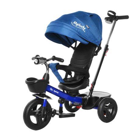 Велосипед триколісний TILLY Melody T-385 Синій/1/
