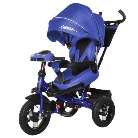 Велосипед триколісний TILLY Impulse з пультом і посиленою рамою T-386 Синій/1/