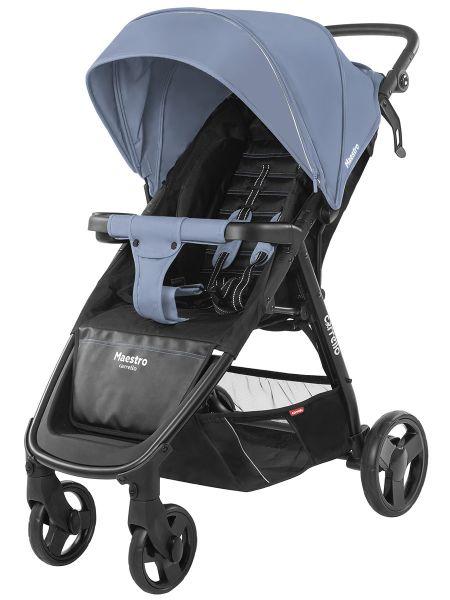 Коляска прогулочная CARRELLO Maestro CRL-1414 Soft Blue +дождевик L /1/ MOQ