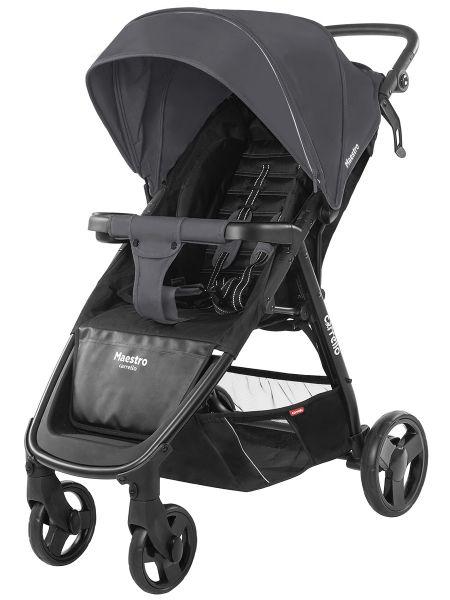 Коляска прогулочная CARRELLO Maestro CRL-1414 Magnet Grey +дождевик L /1/ MOQ