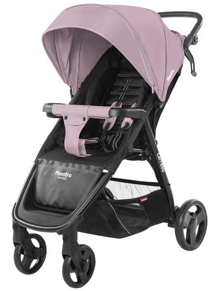 Коляска прогулочная CARRELLO Maestro CRL-1414 Cloud Pink +дождевик L /1/ MOQ