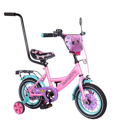 """Велосипед TILLY Monstro 12"""" T-21229/1 pink+blue /1/"""