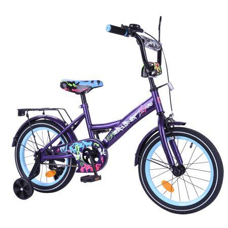 """Велосипед EXPLORER 16"""" T-216115 black_blue /1/"""