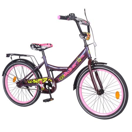 "Велосипед EXPLORER 20"" T-220116 purple_pink /1/"