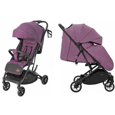 Коляска прогулочная CARRELLO Presto CRL-9002 Indigo Purple +дождевик М /1/ MOQ