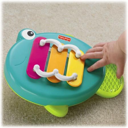Музыкальный ксилофон-погремушка Рыбка со звездой Fisher Price