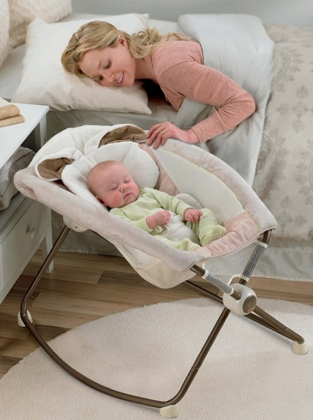 Колыбель для новорожденных Fisher-Price «Мой маленький зайчик» (Newborn Rock n' Play Sleeper, My Little Snugabunny)
