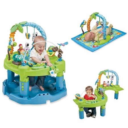 Развивающий центр для детей 3 в 1 Evenflo ExerSaucer Amazon