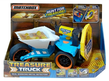 Металлоискатель Matchbox Treasure Truck Metal Detector