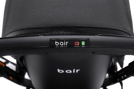 Коляска 2 в 1 Bair Electra B-touch system BE-01 black (черный)