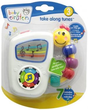 Музыкальная игрушка с классической музыкой Baby Einstein Take Along Tunes