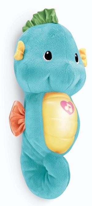 Музыкальная игрушка ночник Морской конек FISHER PRICE